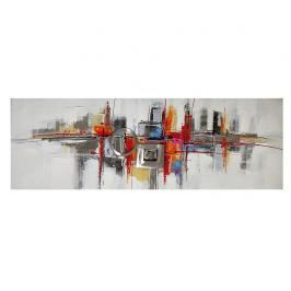 Obraz Gallery Abstract City 50x150 cm